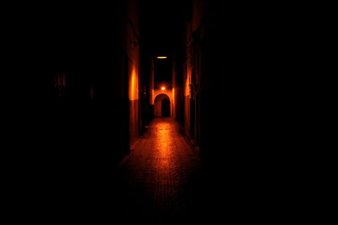 Considerazione2 Rabat- notturno nella Medina