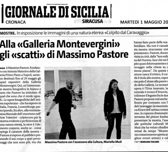recensione Pastore giornale di sicilia